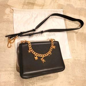 Brand new Michael Kors Lg charm Swag shoulder bag